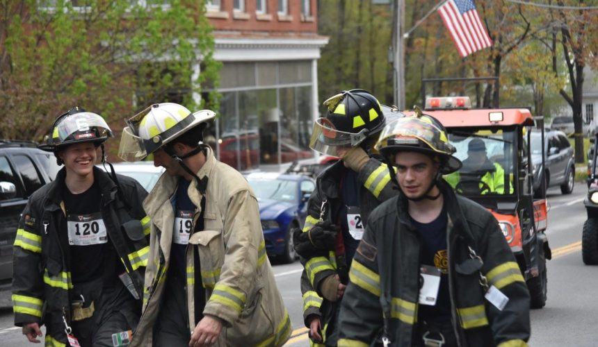 A group of firefighters