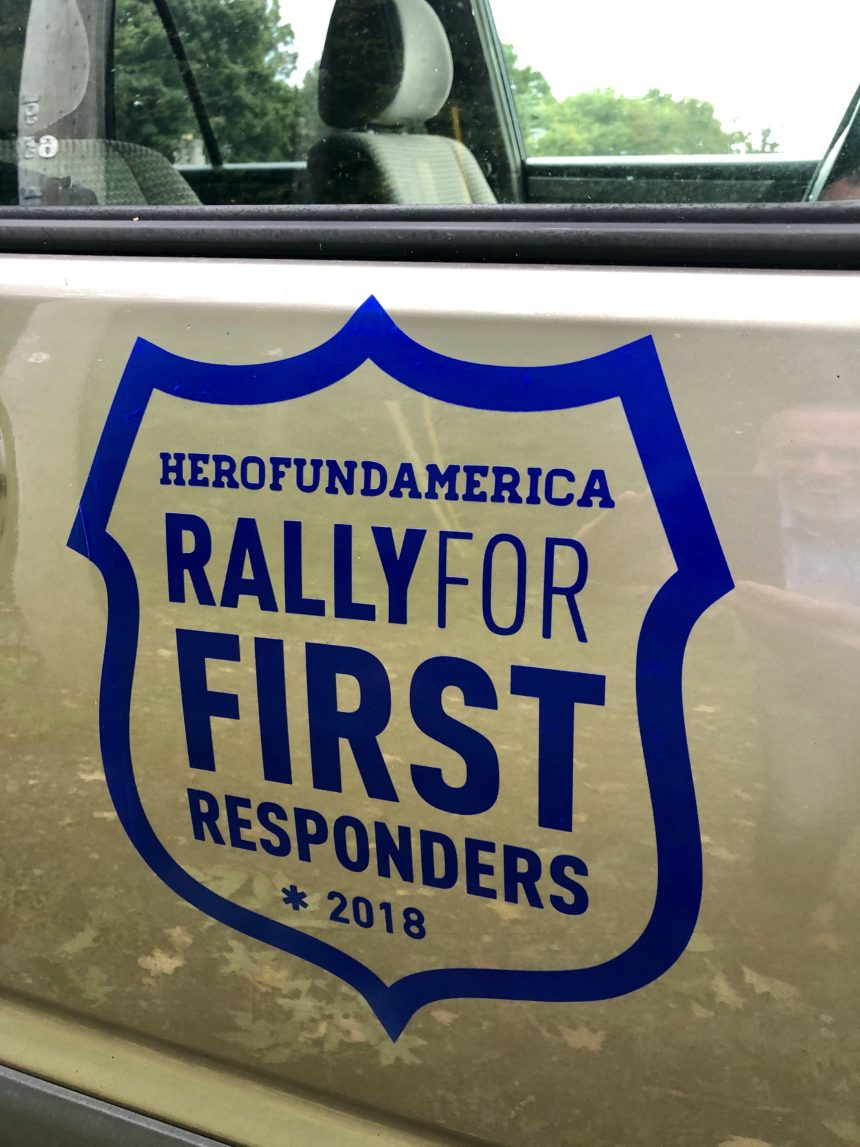 HFA 2nd annual Rally for First Responders!