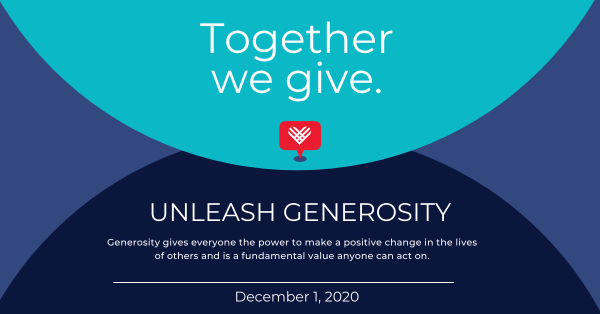 Reminder: Giving Tuesday, December 1